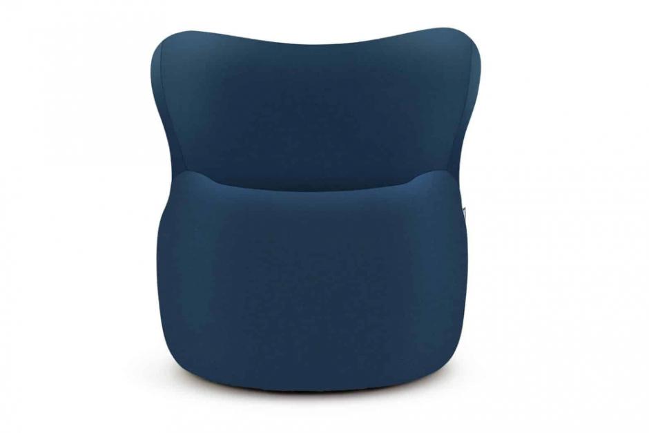Freistil 173 Sessel schwarzblau 6080 mit Rollen sofort lieferbar