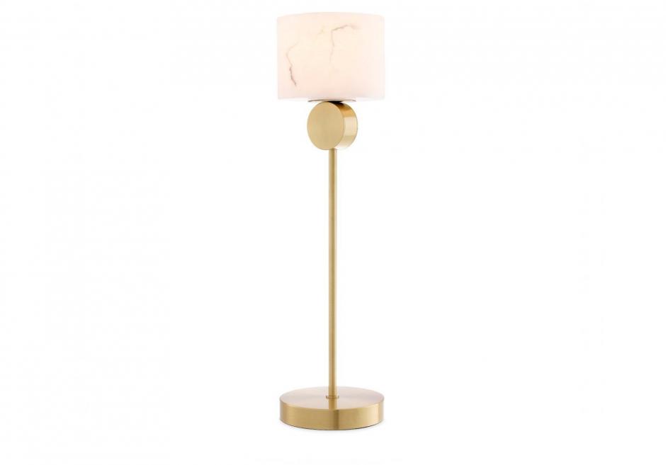 Nachttischlampe Etruscan Gold