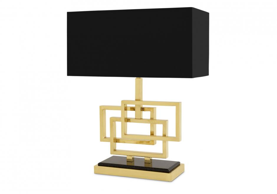 Nachttischlampe Windolf Gold