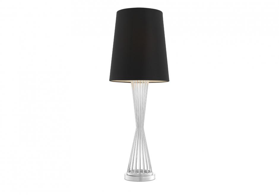 Nachttischlampe Holmes Silber