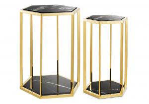 Beistelltische Eichholtz Taro 2er Set Gold