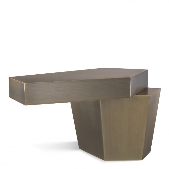 COFFEE TABLE CALABASAS LOW BRASS