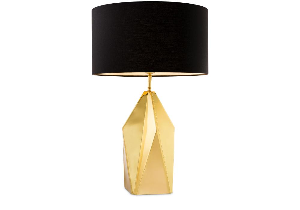 Nachttischlampe Setai Gold