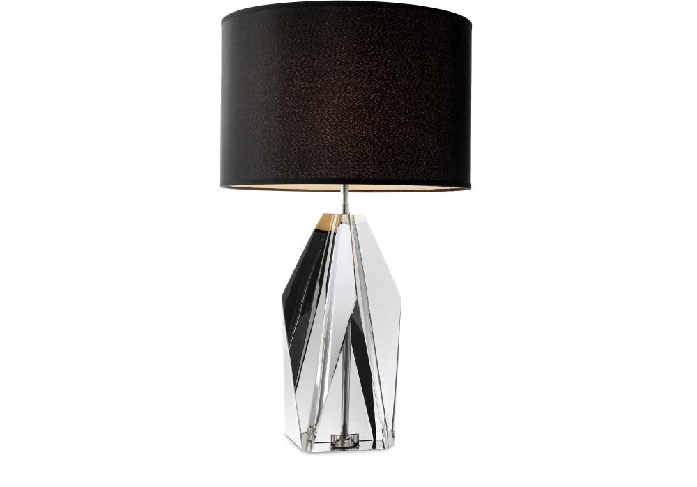 Nachttischlampe Setai Kristall
