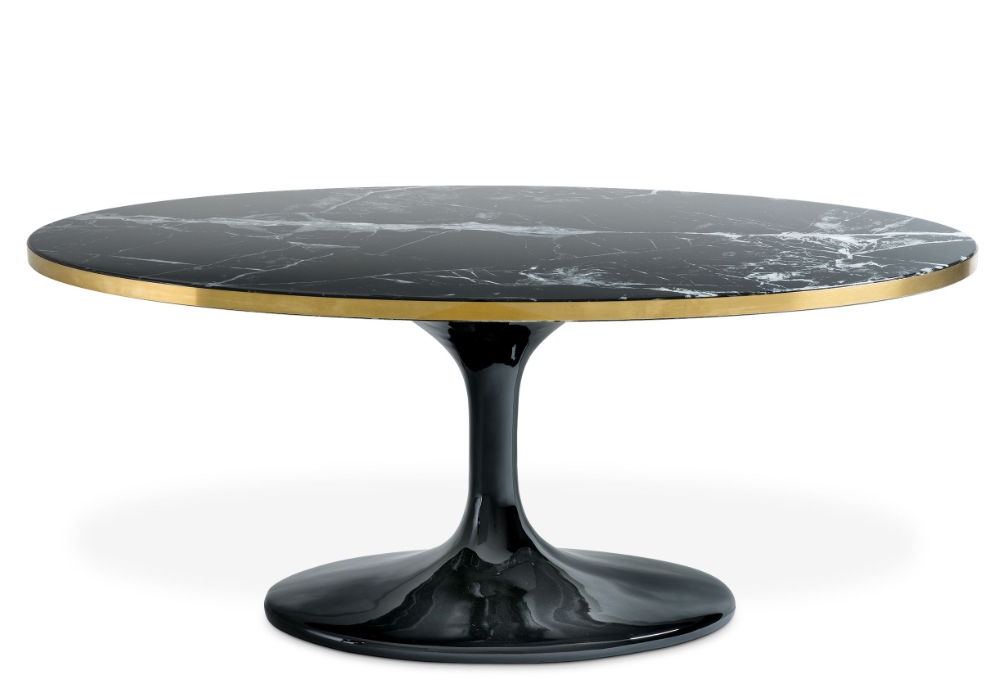 Eichholtz Parme Oval schwarz