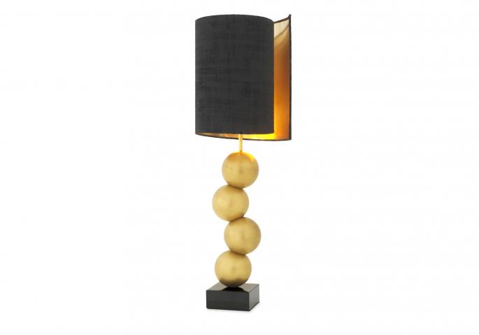 Nachttischlampe Aerion Gold