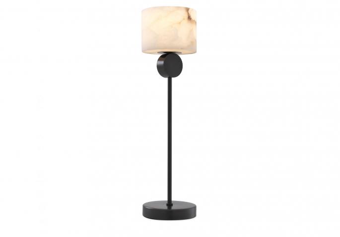 Nachttischlampe Etruscan Bronze