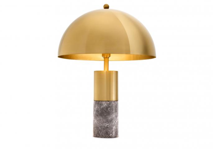 Nachttischlampe Flair Gold