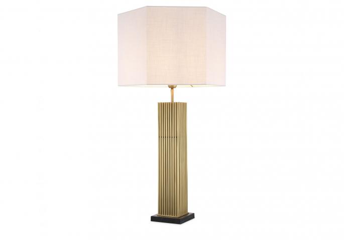 Nachttischlampe Viggo Gold