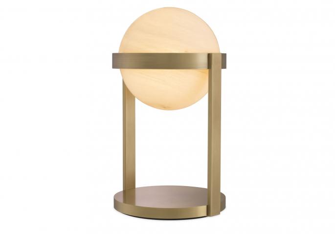 Nachttischlampe Hayward Messing