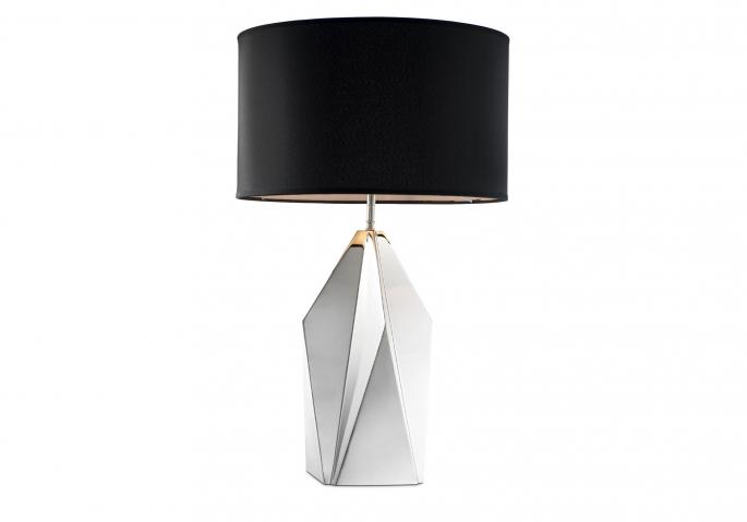 Nachttischlampe Setai Silber